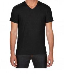 Image 2 of Anvil Tri-Blend V Neck T-Shirt