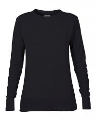 Image 2 of Anvil Ladies French Terry Drop Shoulder Sweatshirt