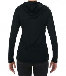 Image 1 of Anvil Ladies Tri-Blend Hooded Jacket