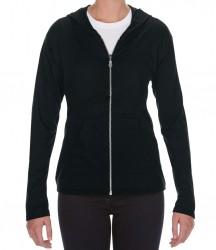 Image 2 of Anvil Ladies Tri-Blend Hooded Jacket