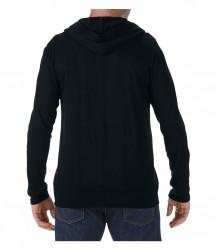 Image 2 of Anvil Tri-Blend Hooded Jacket