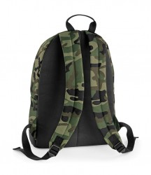 Image 1 of BagBase Camo Backpack