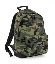 Image 2 of BagBase Camo Backpack