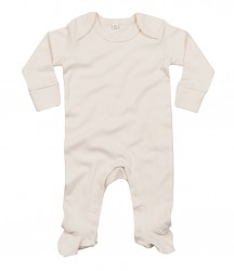 Image 1 of BabyBugz Baby Organic Sleepsuit with Mitts
