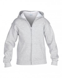 Image 1 of Gildan Kids Heavy Blend™ Zip Hooded Sweatshirt