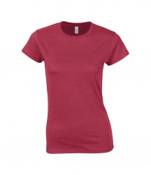 Image 2 of Gildan SoftStyle® Ladies Fitted Ringspun T-Shirt