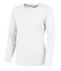 Image 1 of AWDis Just Cool Girlie Long Sleeve T-Shirt