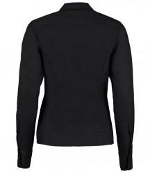 Image 2 of Kustom Kit Ladies Long Sleeve Corporate Oxford Shirt