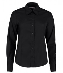 Image 1 of Kustom Kit Ladies Long Sleeve Corporate Oxford Shirt