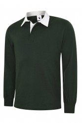 Uneek UC402 Classic Rugby Shirt image