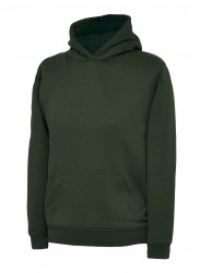 Uneek UC503 Childrens Hooded Sweatshirt  image