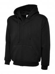 Image 3 of Uneek UC504 Adults Classic Full Zip Hooded Sweatshirt