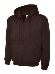Image 4 of Uneek UC504 Adults Classic Full Zip Hooded Sweatshirt