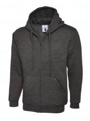 Image 5 of Uneek UC504 Adults Classic Full Zip Hooded Sweatshirt