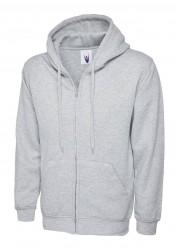 Image 6 of Uneek UC504 Adults Classic Full Zip Hooded Sweatshirt