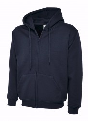 Image 7 of Uneek UC504 Adults Classic Full Zip Hooded Sweatshirt