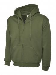 Image 8 of Uneek UC504 Adults Classic Full Zip Hooded Sweatshirt