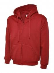 Image 9 of Uneek UC504 Adults Classic Full Zip Hooded Sweatshirt