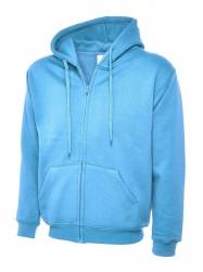 Image 11 of Uneek UC504 Adults Classic Full Zip Hooded Sweatshirt