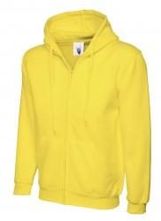 Image 13 of Uneek UC504 Adults Classic Full Zip Hooded Sweatshirt