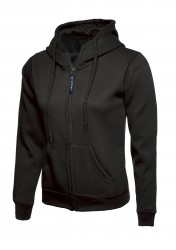 Uneek UC505 Ladies Classic Full Zip Hooded Sweatshirt image