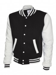 Uneek UC525 Mens Varsity Jacket image