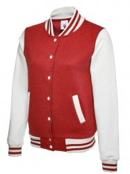 Image 4 of Uneek UC526 Ladies Varsity Jacket