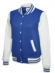 Image 5 of Uneek UC526 Ladies Varsity Jacket