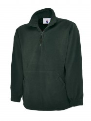 Uneek UC602 Premium 1/4 Zip Micro Fleece Jacket image