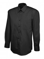 Uneek UC701 Mens Pinpoint Oxford Full Sleeve Shirt image
