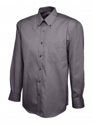Image 3 of Uneek UC701 Mens Pinpoint Oxford Full Sleeve Shirt