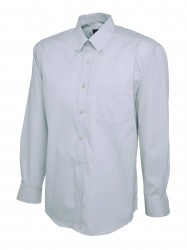 Image 4 of Uneek UC701 Mens Pinpoint Oxford Full Sleeve Shirt