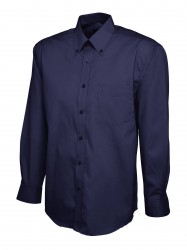 Image 6 of Uneek UC701 Mens Pinpoint Oxford Full Sleeve Shirt