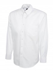 Image 8 of Uneek UC701 Mens Pinpoint Oxford Full Sleeve Shirt