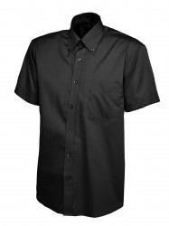 Uneek UC702 Mens Pinpoint Oxford Half Sleeve Shirt image