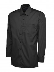 Uneek UC709 Mens Poplin Full Sleeve Shirt image