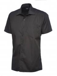 Uneek UC710 Mens Poplin Half Sleeve Shirt image