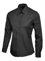 Uneek UC711 Ladies Poplin Full Sleeve Shirt image