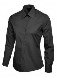 Uneek UC711 Ladies Poplin Full Sleeve Shirt image