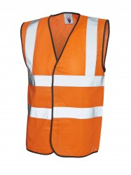 Uneek UC801 Sleeveless Safety Waist Coat image