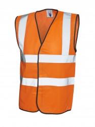 Uneek UC801 Sleeveless Safety Waist Coat image