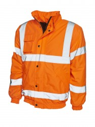 Uneek UC804 High Visibility Bomber Jacket image