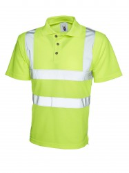 Uneek UC805 Hi-Viz Polo Shirt image