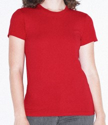 Image 2 of American Apparel Ladies Fine Jersey T-Shirt
