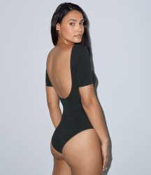 American Apparel Ladies Double U Neck Bodysuit image