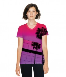 American Apparel Ladies Sublimation T-Shirt image