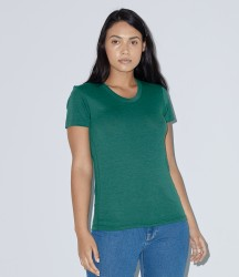 American Apparel Ladies Tri-Blend Track T-Shirt image