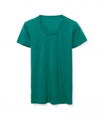 Image 5 of American Apparel Ladies Tri-Blend Track T-Shirt