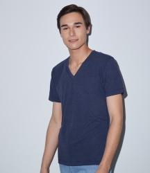 American Apparel Unisex Tri-Blend V Neck T-Shirt image