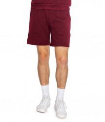 American Apparel Unisex Salt and Pepper Gym Shorts image